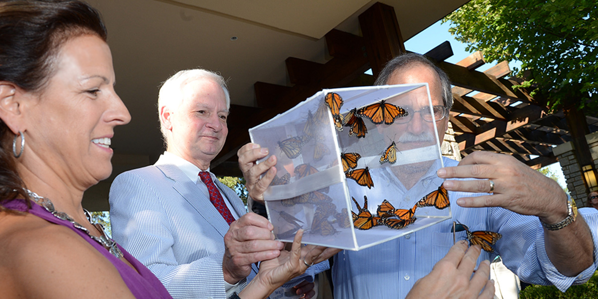 Wings of Hope, a butterfly release hosted by Spartanburg Regional Foundation, elicits hope and healing for members of our community touched by a serious illness took place at the Bearden-Josey Center for Breast Health