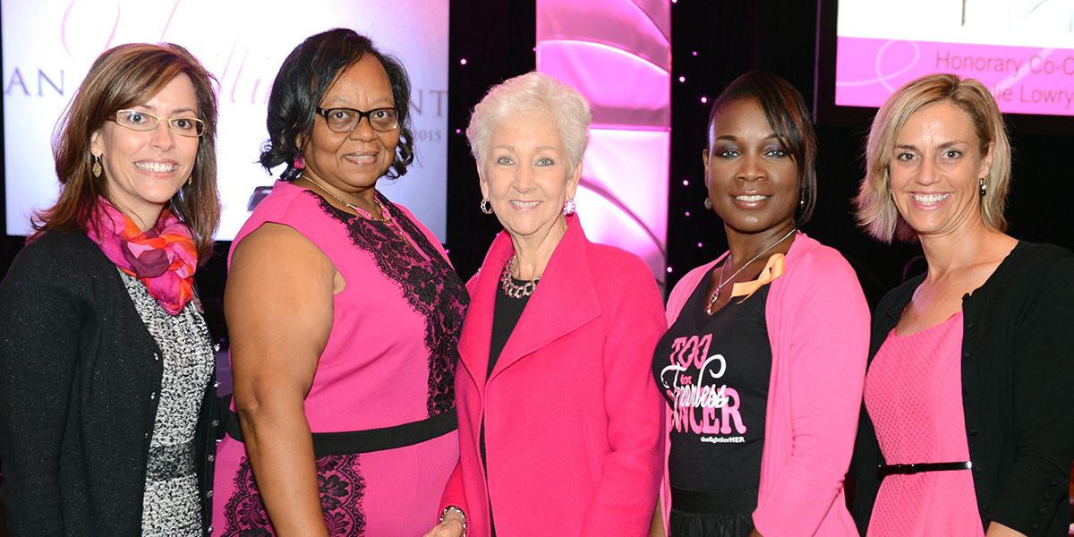 Attendees of the An Uplifting Event luncheon hosted by Spartanburg Regional, which is a special event promotes breast cancer screening and raises funds to ensure that no woman goes without a potentially life-saving mammogram Foundation
